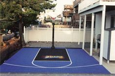 Ideal demensions for a driveway basketball court Home Basketball Court, Things That Bounce, Things To Come, Garage Organization, Just Go, In The Heights, Nice, Toys, Activity Toys