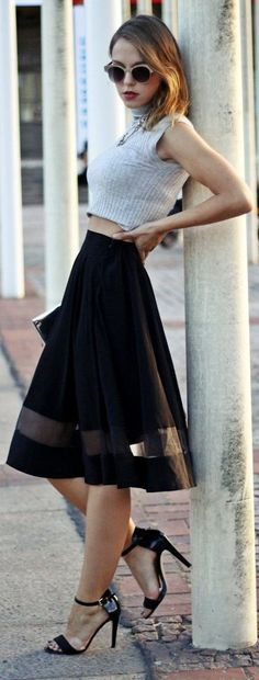 Style Know Hows: Fashion Skirts-french style