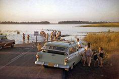 New York. 1958. St. Lawrence Seaway....