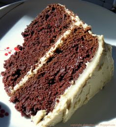 100 Days of Gluten Free Recipes: Gluten Free Devil's Food Cake with Salted Caramel Frosting Recipe