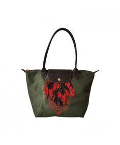 Longchamp Limited Edition Apache Bag Labellov, luxury vintage. Buy safe online.