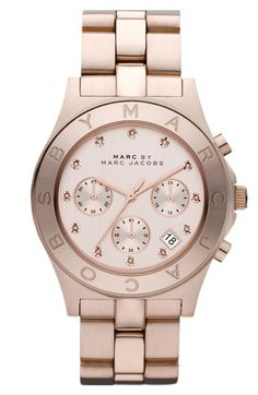 MARC BY MARC JACOBS 'Blade' Crystal Index Watch...this is what i hinted at for vday...we will see ;)