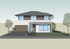 We designed the MODE as a spacious, four bedroom, two storey residence with the master bedroom at ground floor level and the children's area upstairs. Ground Floor, Architecture Design, Master Bedroom, House Plans, Modern Design, Floor Plans, Flooring, How To Plan, Mansions