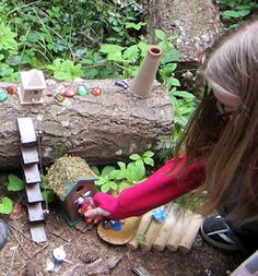 Create a fairy village