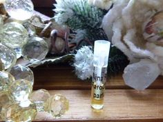 Paco Rabanne Vintage Calandre Pure Parfum 1/2mL sample Women Woodsy Green RARE #PacoRabanne