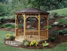 Hghly customizable (for adding Gazebos entertain your guests for backyard get-togethers all summer long.