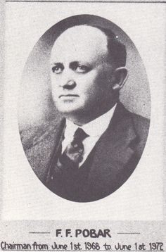 F.F. Pobar. Chairman of the Toowoomba Permanent Building Society from June 1st, 1968 until June 1st, 1972.