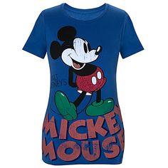Walt Disney's Mickey Mouse Tee for Women