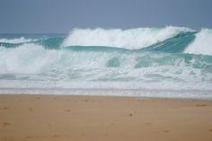 Atlantic Ocean at Lacanau France 2011