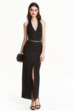 Vestido halterneck   H&M