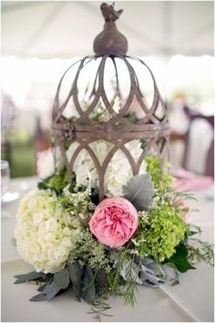 We love these unique and original centrepiece ideas...