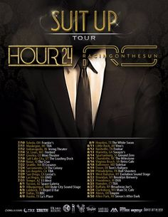 Female-fronted rock band Hour 24 announce 'Suit Up' tour with Racing On The Sun
