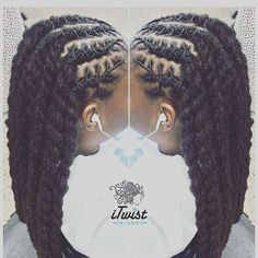 Shaking love to this loc Queen/Loctician if you're in the area make sure you stop in for her to bless your crown! Mens Dreadlock Styles, Dreads Styles, Braid Styles, Curly Hair Styles, Natural Hair Styles, Twist Styles, Dreadlock Hairstyles For Men, Girl Hairstyles, Stylish Hairstyles