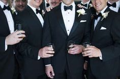clean and classic menswear wedding fashion. cheers!