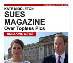 Kate Middleton Topless Photos: Washington Post Should Chill