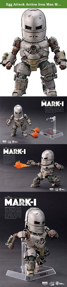 Egg Attack Action Iron Man Mark 1 non-scale PVC painted action figure. It's shipped off from Japan.