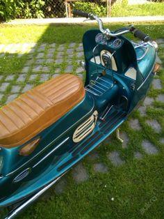 """!!! ČEZETA-175/501 první typ """"Hodinář"""" ! Vespa, Super 4, Scooter Bike, Sidecar, Golf Carts, Cool Bikes, Scooters, Cars And Motorcycles, Motorbikes"""