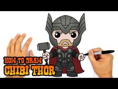 How to Draw Starlord | Guardians of the Galaxy - YouTube