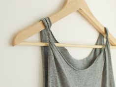 diy cut out tank top - maybe one day i'll actually convert one of the million black t-shirts i have into something worth wearing