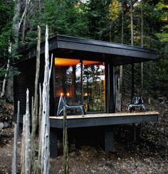 Small Cabin Chic, Architecture, Home Decor, Interior Desing