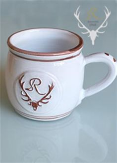 Handgemacht Hirsch tassen, Handmade Deer tea cup  #handgemacht #haferl #kaffeehaferl #teehaferl #teacup #handmade Tea Time, My Heart, Canning, Mugs, Tableware, Dinnerware, Tumblers, Tablewares, Mug