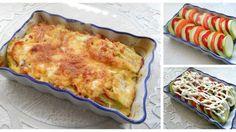 Cuketa zapečená s paradajkami, paprikou a syrom