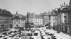 Am Hof around Vienna Austria, Photographs, Old Things, Louvre, History, Architecture, Dahlia, City, Building