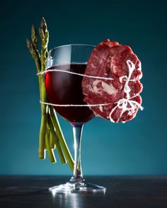 Kyle Dreier pairs food with drink for interesting still life images.