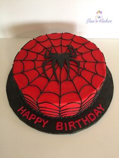 Spiderman Cake Ideas for Little Super Heroes - Novelty Birthday Cakes Spiderman Theme Party, Spiderman Birthday Cake, Avengers Birthday, Superhero Cake, Superhero Birthday Party, Men Birthday, Happy Birthday, Birthday Gag Gifts, Homemade Birthday Cakes