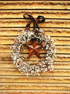 Western Christmas wreath