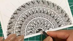 Mandela Art, Art Drawings Simple, Mandala Drawing, Zen Doodle Art, Drawings, Dot Art Painting