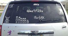 Disney decals!!! #WaltLife is my fave!