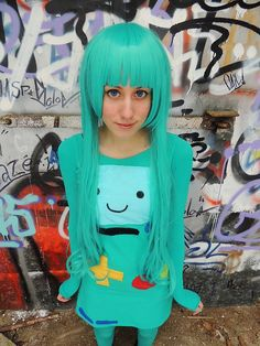 Adventure Time Cosplay - BMO by ~problematiiques on deviantART <<< I got a shirt like that for christmas.