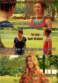 Chloe drives Beca crazy one more time.  Bechloe, Staubrey, Pitch Perfect 2