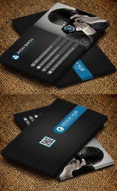 Fotografía de la tarjeta de visita Diseño # 7
