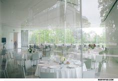 Modern Toledo Ohio Wedding Minimal Toledo Museum of Art Glass Pavilion  By Mary Wyar Photography http://marywyar.com
