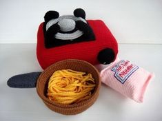 Crochet Pattern  PORTABLE STOVE Toys / Playfood  PDF by skymagenta, $5.99