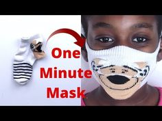 Home made DIY FACE MASK using old socks. Face mask is easy to make with only a few materials. No sewing machine needed. Sock fabric conforms to your face wel. Face Masks For Kids, Easy Face Masks, Homemade Face Masks, Diy Face Mask, Pocket Pattern, Diy Mask, Couture, Mask Making, About Me Blog