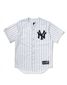 Majestic Athletic NY Yankees Replica Jersey with Pinstripe