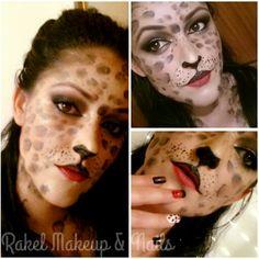 Maquillaje leopardo