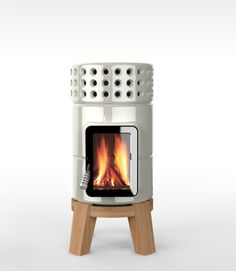 roundstack wood stove