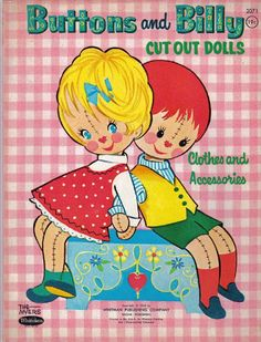 Paper Dolls~Buttons and Billy - INMACULADA R. L - Picasa Webalbum* 1500 free paper dolls international artist Arielle Gabriel's The Internatonal Paper Doll Society for paper doll pals at Pinterest *