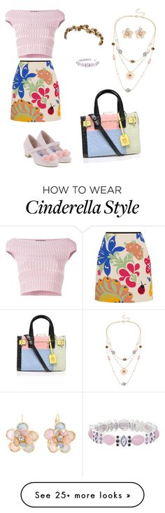 """tea time"" by tanz-mim on Polyvore featuring Victoria, Victoria Beckham, Jennifer Behr, Alexander McQueen, Mixit, Monet and Kurt Geiger"