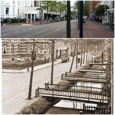 Eindhoven, Sidewalk, History, Historia, Pavement, Curb Appeal