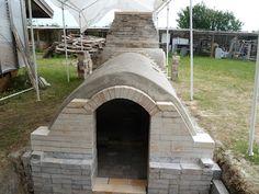 Priscilla Mouritzen's beautiful wood kiln