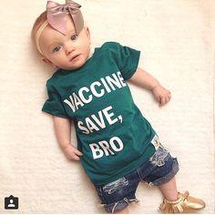 Evergreen Vaccines Save, Bro. www.wireandhoney.com