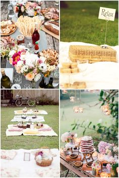 rustic & relaxed picnic ideas for your special day