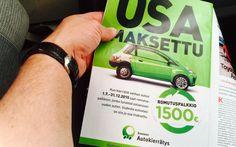 Romutuspalkkio tarjoaa riihikuivaa käteistä 1500 euroa autokaupoilla