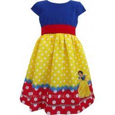 Vestido Personagem Infantil - Universo 4 Kids