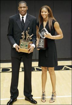 2009 - Candace Parker and Kevin Durant